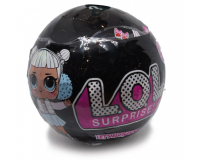 Кукла LOL Surprises ЛОЛ Сюрприз в черном шарике 7 серия Black