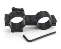 Подствольное крепление на оптику для установки ЛЦУ или фонаря 24 мм