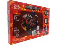 Конструктор Minecraft 121106 Микромир: Нижний мир, 469 деталей