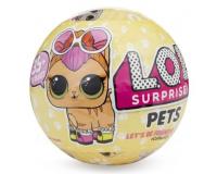 Кукла LOL Pets Surprises ЛОЛ Домашний питомец Сюрприз в шарике 3 серия