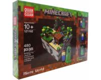 Конструктор Minecraft 121102 Микромир: Лес, 480 деталей
