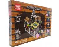 Конструктор Minecraft 121105 Микромир: Деревня, 466 деталей