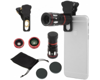 Набор объективов Universal Clamp Camera Lens 4 in 1