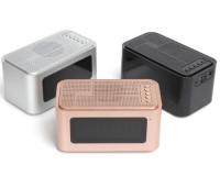 S-61 Портативная Bluetooth колонка с будильником