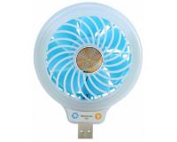 Beauty Fan F55 Портативный USB вентилятор с подсветкой