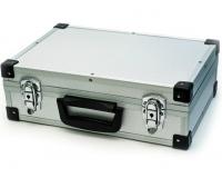 Кейс переносной алюминиевый, 33x21x9 см