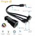 Promate Tryx-2 Премиальное зарядное устройство 3 в 1 (Lightning, Micro-USB, 30-pin), 1,0A