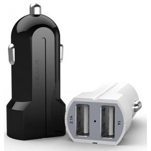Автомобильное зарядное устройство в прикуриватель Usams 2Port 2хUSB на 2,1A и 1,0A