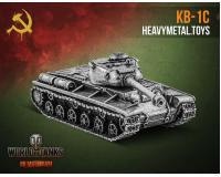 World of Tanks Стальная Модель танка КВ-1С масштаб 1:100